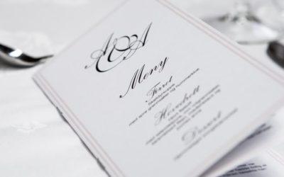 10 tipos de invitaciones de boda elegantes