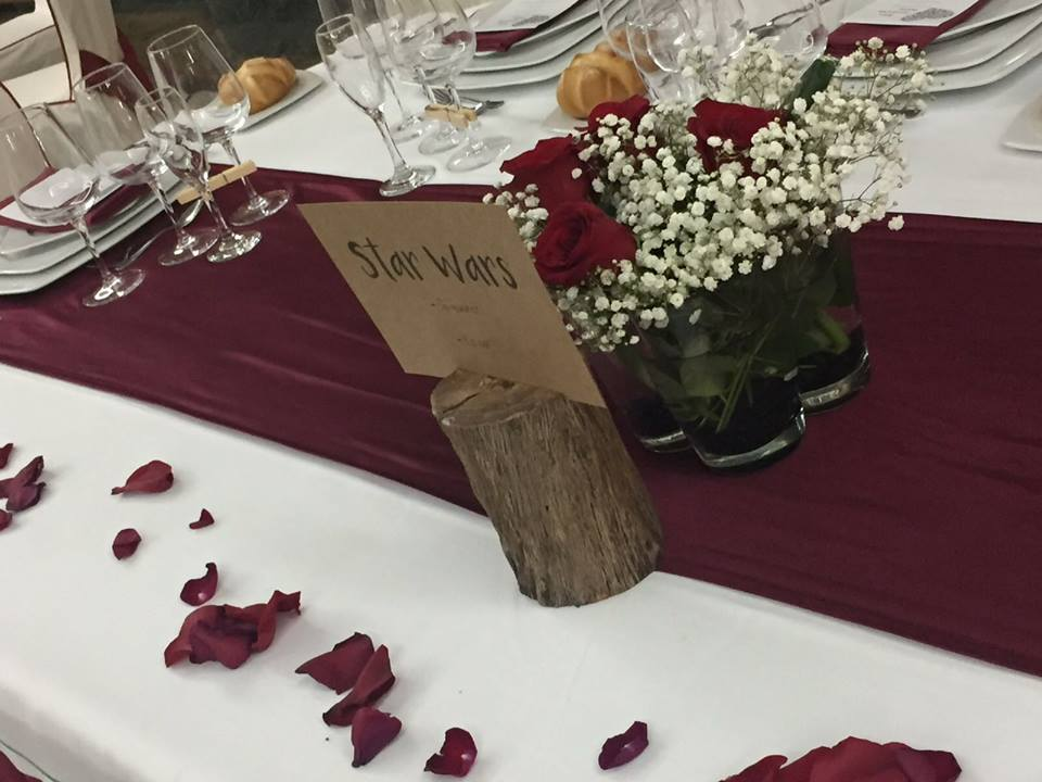 protocolo en el mesero de boda